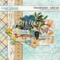 Wanderlust Add-On by Digital Scrapbook Ingredients