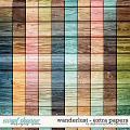Wanderlust | Extra Papers by Digital Scrapbook Ingredients