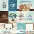 Wanderlust | Cards by Digital Scrapbook Ingredients