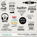 Home Activities | Stamps by Digital Scrapbook Ingredients