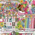Farmhouse Easter Bundle by Clever Monkey Graphics