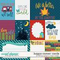 Happy Camper Card Pack by Meghan Mullens & River Rose Designs