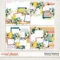 Funny Bunny Layered Templates by Southern Serenity Designs