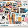 Stick Together Bundle & *FWP* by Digital Scrapbook Ingredients