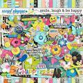 Smile, Laugh & Be Happy Kit by Blagovesta Gosheva and Studio Basic