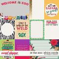 At the Zoo: Africa Cards by Meagan's Creations