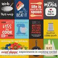 Experiments in Cooking Cards2 by Clever Monkey Graphics