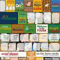 On the Farm Cards by Clever Monkey Graphics