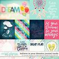 believe in your dreams journal cards: be wendyp designs & simple pleasure designs by jennifer fehr