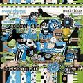 Goal Blue by JoCee Designs