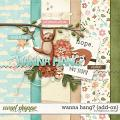 Wanna Hang? {Add On} by Digilicious Design