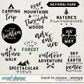 Back To Nature | Stamps by Digital Scrapbook Ingredients