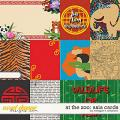 At the Zoo: Asia Cards by Meagan's Creations
