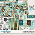 Coastal Bundle by Digital Scrapbook Ingredients