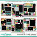Cindy's Layered Templates - Six Pack 17: This is Summer by Cindy Schneider