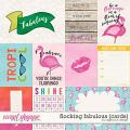 Flocking Fabulous {Cards} by Digilicious Design