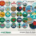 Oregon Flairs & Disks by Clever Monkey Graphics