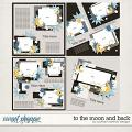 To the Moon and Back Layered Templates by Southern Serenity Designs