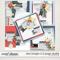 STAR BRIGHT V.2 PAGE DRAFTS by The Nifty Pixel