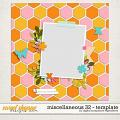 Miscellaneous 32 Template by Digital Scrapbook Ingredients