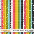 Sunshine on my Face: Papers by River Rose Designs