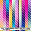 These Summer Nights | Extra Papers by Digital Scrapbook Ingredients