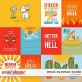 Cruel Summer Cards by LJS Designs