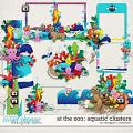 At the Zoo: Aquatic Clusters by Meagan's Creations