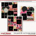 Cindy's Layered Templates - Trio Pack 86: Mr & Miss Mouse by Cindy Schneider