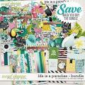 Life is a paradise: bundle by Amanda Yi & WendyP Designs