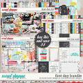 First Day Bundle by Studio Basic and Micheline Lincoln Designs