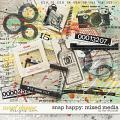 SNAP HAPPY MIXED MEDIA | by The Nifty Pixel