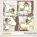 Last Summer Days Layered Templates by Southern Serenity Designs