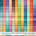 Take It Easy & Live The Life   Extra Papers by Digital Scrapbook Ingredients