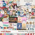 Birthday Kitty Bundle by lliella designs