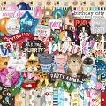 Birthday Kitty by lliella designs