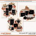 Cindy's Layered Templates - Trio Pack 87: Tack It Fall by Cindy Schneider