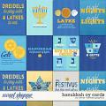 Hanukkah Oy Cards by Clever Monkey Graphics