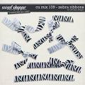 CU Mix 136 - Zebra ribbons by WendyP Designs