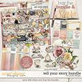 Tell Your Story Bundle with FWP Ombres Papers by JoCee Designs
