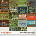 Gone Hunting Cards2 by Clever Monkey Graphics