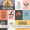 Wicked Awesome Women Cards by LJS Designs