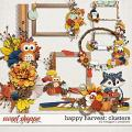 Happy Harvest: Clusters by Meagan's Creations