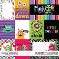 Monsterrific-Card Pack by JoCee Designs & Meghan Mullens