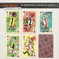 CU EPHEMERA | PLAYING CARDS V.4 by The Nifty Pixel