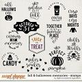 Fall & Halloween Memories | Stamps by Digital Scrapbook Ingredients