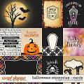 Halloween Memories | Cards by Digital Scrapbook Ingredients