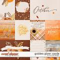 Golden Glow: Cards by River Rose Designs