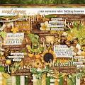 An Autumn Tale: Falling Leaves by Kristin Cronin-Barrow