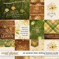 An Autumn Tale: Falling Leaves Cards by Kristin Cronin-Barrow